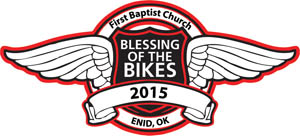 Blessing of Bikes PATCH USE.SMALL.15